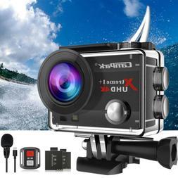 Campark 4K HD 20MP 1080P Waterproof Sport Action Camera WiFi