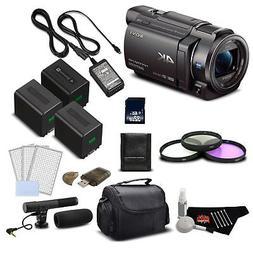 Sony 4K HD Video Recording FDRAX33 Handycam Camcorder- Profe
