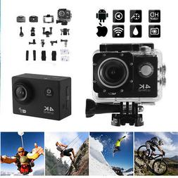 4K UHD 1080P 30M Waterproof Sport Camera WiFi for Action Cam