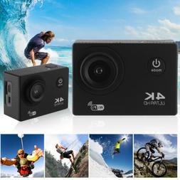 4K UHD 1080P 30M Waterproof Sport Camera WiFi Wide Angle Act