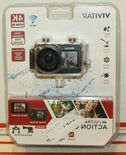 VIVITAR 4K Ultra HD Action Cam DVR922HD-BLK-WM NEW SEALED