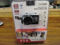 Vivitar 4K Ultra HD Action Camera Dual Screens Waterproof Ca