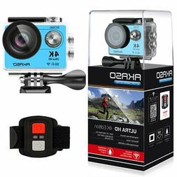 AKASO 4K Wi-Fi Sports Action Camera Ultra HD Waterproof DV C