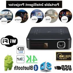 5000Lumens DLP Android 7.1 Wifi 4K HD 1080P TOUCH Projector