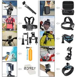 58 in 1 GoPro Accessories Hero 6 5 4 3 2 1 Bundle Camera Out