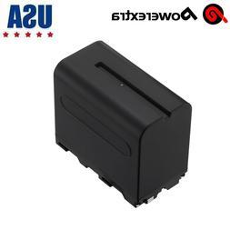 7.4V 6600mAh Li-ion Battery For Sony NP-F950 NP-F960 NP-F970