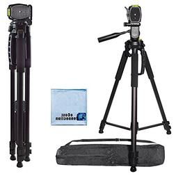 72 Inch Elite Series Professional, Full Size Camera Tripod f