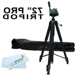 "Professional 72"" Tripod for Canon Vixia HF R82, HF R80, HF R"