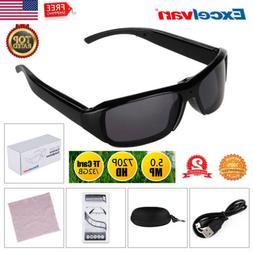 720P HD Polarized Video glasses Hidden Mini Camera Spy Eyewe