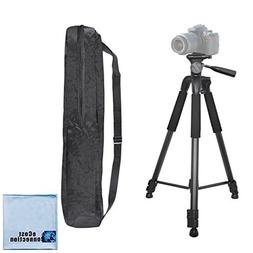 """75"""" Inch Elite Series Full Size Camcorder Tripod For Canon,"""