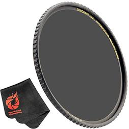 Breakthrough Photography 77mm X4 3-Stop ND Filter for Camera