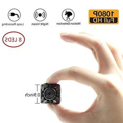 Moosoo 1080P/720P 8 Infrared LED Night Vision Motion Detecti
