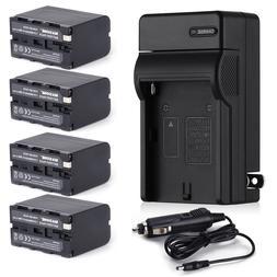 8700mAh NP-F970 NP-F960 Battery for Sony NP-F770 F570 NP-F55