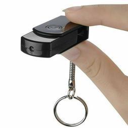 16GB USB Flash Drive Keychain Mini Video Camera Recorder Cam