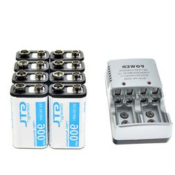 8X Durable 9V 9 Volt 900mAh Power Ni-Mh Rechargeable Battery