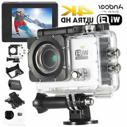 Andoer WiFi 4K Ultra-HD 1080P Waterproof Sports DV Action Ca