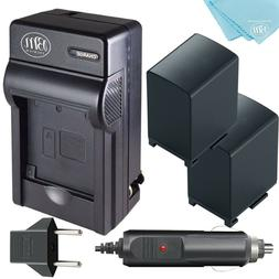 BM Premium 2 BP-828 Batteries and Charger for Canon VIXIA GX