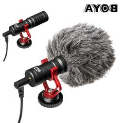 BOYA BY-MM1 Video Mic Microphone Condensor for Nikon Canon D