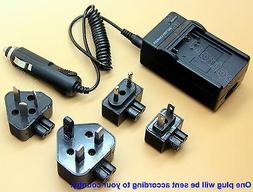 Battery Charger For Bell and Howell DV1200HD DNV900hd Digipo