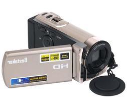 Besteker HDV-601S Gold Digital Camera Pro Video Camcorder HD