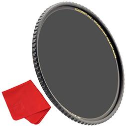 Breakthrough Photography 82mm X4 6-Stop ND Filter for Camera