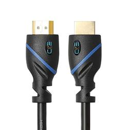 C&E 6 Feet, Super High Resolution HDMI, Accessory Bundle for