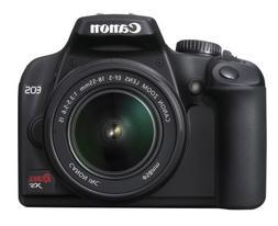 Canon Rebel XS DSLR Camera with EF-S 18-55mm f/3.5-5.6 IS Le