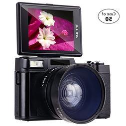 Case of 50,Besteker Digital Camera Camcorder Full HD 1080p 2