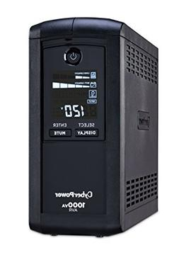 CyberPower CP1000AVRLCD Intelligent LCD Series UPS 1000VA 60
