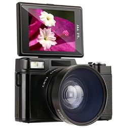 Digital Camera,Besteker Camcorder Full HD 1080p 24.0MP 3.0-I