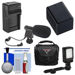 Essentials Bundle for Canon Vixia HF R70, R700, R72, R80, R8