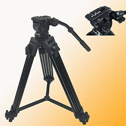 Fancierstudio Professional Heavy Duty Video Camcorder Tripod