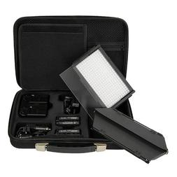 Fotodiox Pro LED-312DS, Professional 312 LED Dimmable and Bi