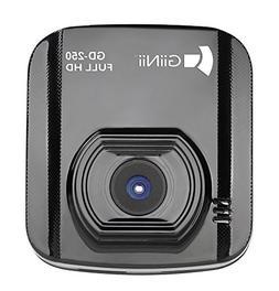 GiiNii GD-250 1080P DashCamVideo Camera with 2.0-Inch LED Ba