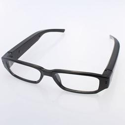 HD 720P DVR Digital Camera Eyewear Camcorder Clear Lens Glas