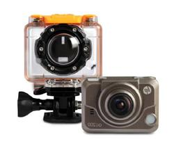 HP 0.83-Inch Action Cam ac200 Waterproof Video Camera with O