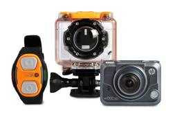 HP Action Cam ac200w Full HD 1080p Waterproof Camera with Wr