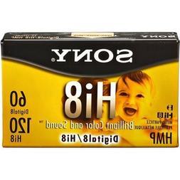 Hi Premium Grade 8mm Camcorder Videotape Cassette, 120 Minut