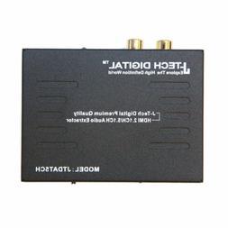 J-Tech Digital Premium Quality 1080P HDMI To HDMI + Audio  A
