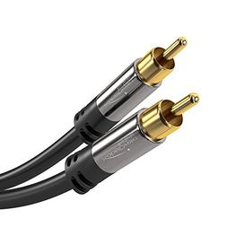 KabelDirekt RCA Subwoofer Cable / Cord  supports