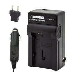 Kapaxen Rapid Battery Charger Kit for Canon BP-820 BP-828 Ca