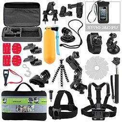Kit for GoPro Accessories Session Hero 3-4-5 Go Pro sj4000 s