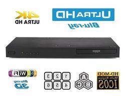 LG - UP970 - 4K Ultra HD 3D Wi-Fi Built-In Blu-Ray Player -