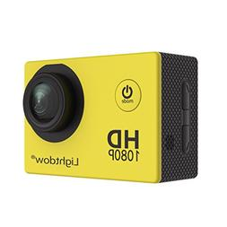 Lightdow LD4000 1080P HD Sports Action Camera Kit - 30m Unde