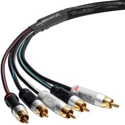 Mediabridge ULTRA Series Component Video Cable with Audio  -