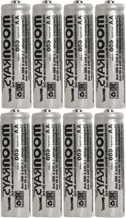 Moonrays 47740SP Rechargeable NiCd AA Batteries for Solar Po