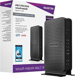 NETGEAR C3000-100NAS N300  WiFi DOCSIS 3.0 Cable Modem Route