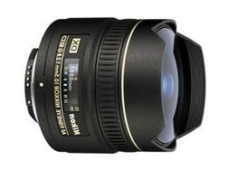 Nikon AF DX NIKKOR 10.5mm f/2.8G ED Fixed Zoom Fisheye Lens