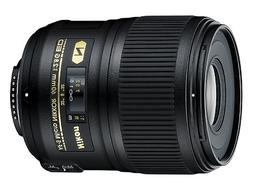 Nikon AF-S FX Micro-NIKKOR 60mm f/2.8G ED Fixed Zoom Lens wi