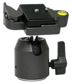 Opteka TH20 Ball Head with Quick Release Plate for Tripods a